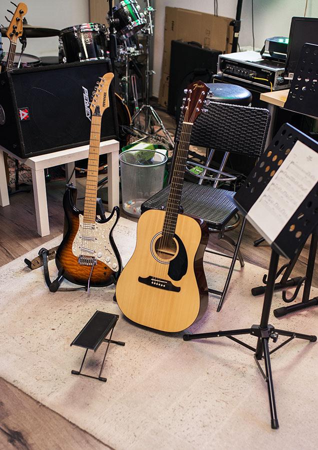 Gitarre lernen in Stuttgart